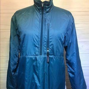 Patagonia Teal Pullover 1/2 Zip Jacket XS